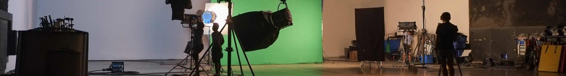 Open plan video studio