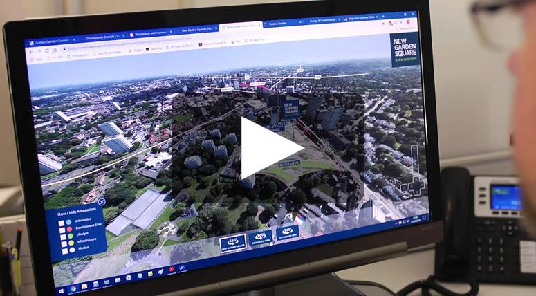 360° Aerial Tours – Exterior Spaces